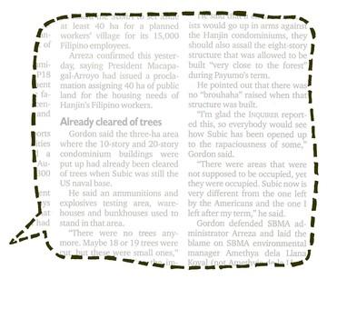 Balloon 04 _ English newspaper