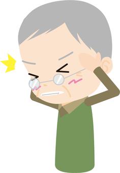 Headache (elderly men)
