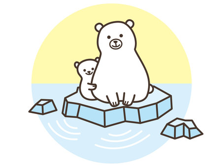 Creature / Polar Bear Parent and Child
