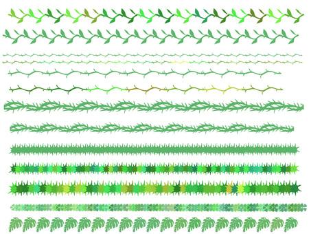 植物线(绿线)