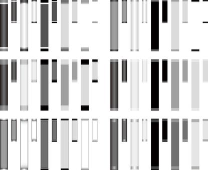 제목 테두리 흑백 시리즈 2