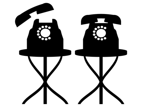 Phone and round table 01