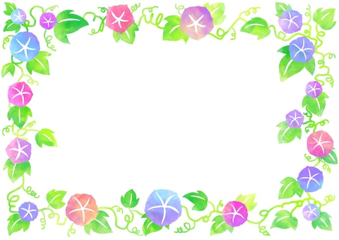 Morning glory frame