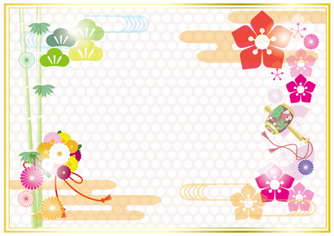 Japanese style frame 8