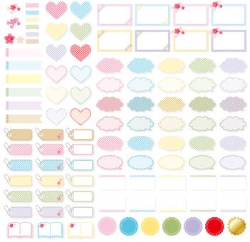 Masking tape · Balloard dots