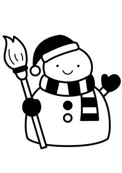 Snowman 1c