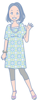 Girls fashion illustration