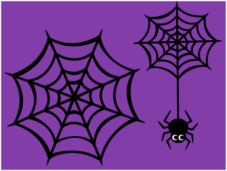 Spider web for halloween