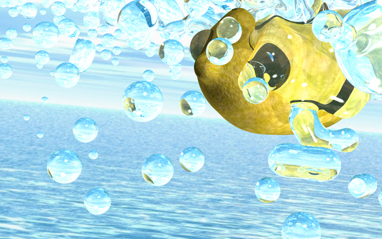 Splash 4-3 poured on lemon