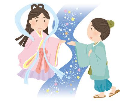 Tanabata Orihime Hikoshi