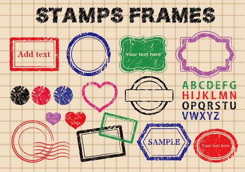 Stamp material