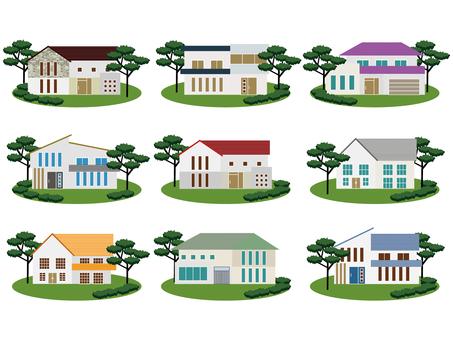 House (detached house) set
