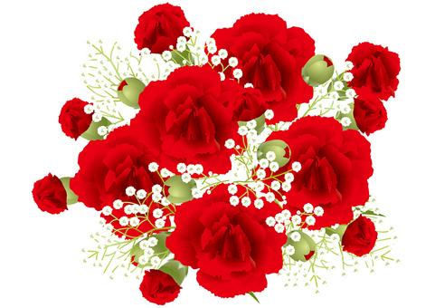 Carnation & gleaming grass 8