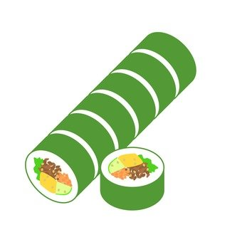 Korean seaweed roll