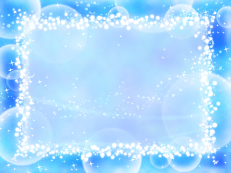 Glittery frame blue