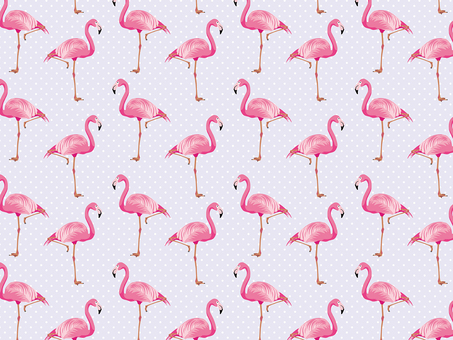 Animal _ flamingo pattern 01