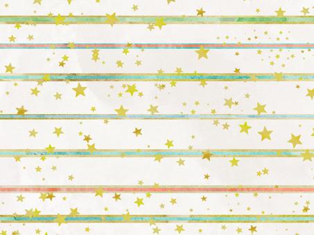 Watercolor star wallpaper ⑦