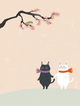 貓和手牽手1