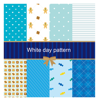 White day pattern