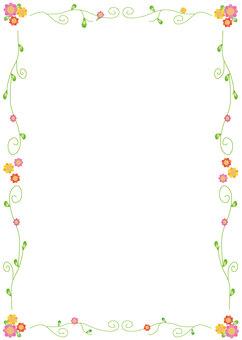 Wakaba & Flower Frame
