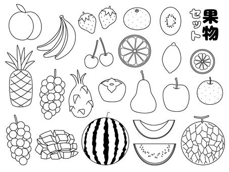 White fruit