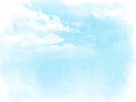 Emotional Watercolor Sky Background