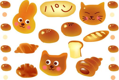 Bread pastry
