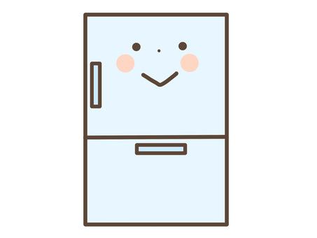 冷蔵庫のキャラクター