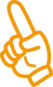 Glove, hand icon 3