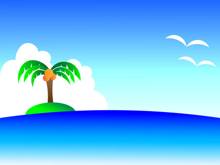 Summer sea background