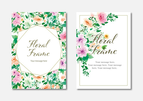 Floral card set1