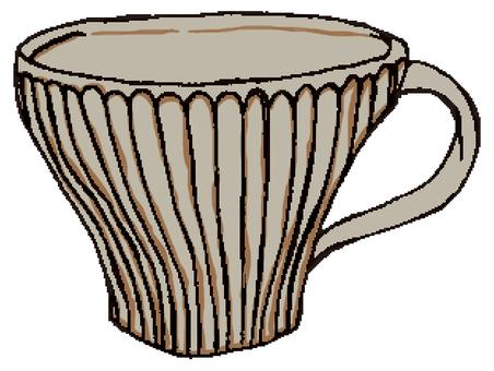 도자기 컵 ②