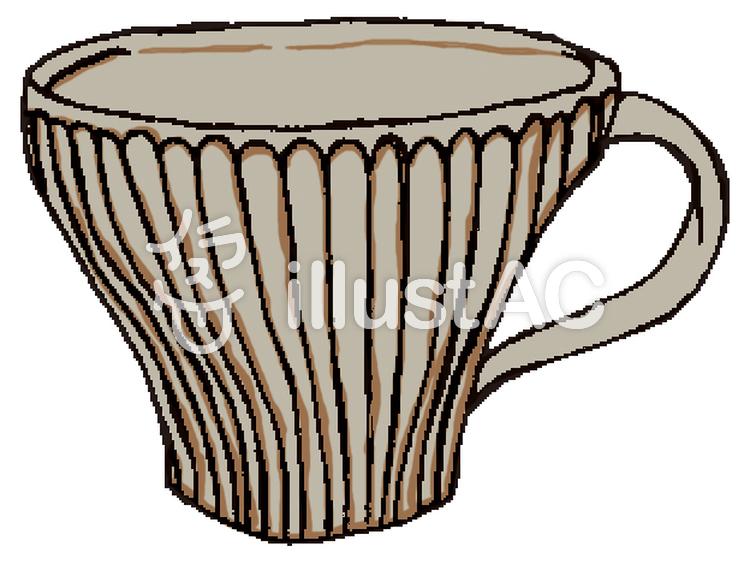 陶器のカップ②イラスト No 596659無料イラストならイラストac