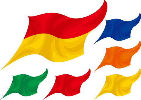 ライフガード旗