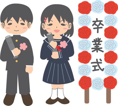 【Event】 graduation ceremony student