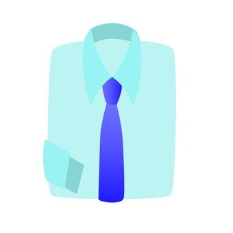 Shirt and necktie