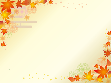 Japanese paper _ autumn pattern _ CS 6