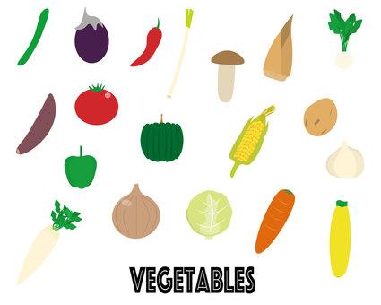 Vegetable set!