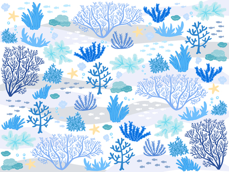 Agate sea wallpaper 01 (blue)
