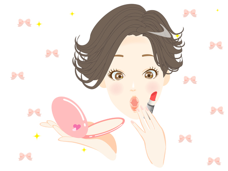 Beauty (lipstick) up