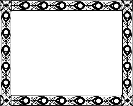 Wallpaper Background Decorative material Black & white Ver