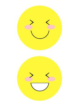 A smiley mark