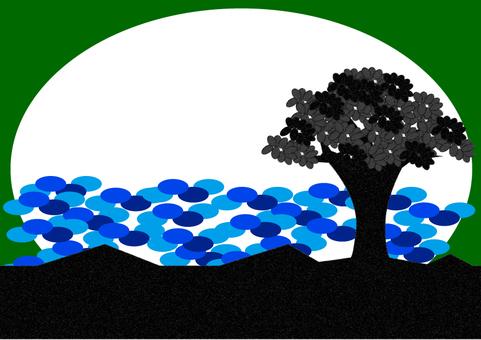Tree Shadow 2 A4