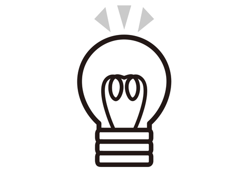 Light bulb Pikari _ mono cs