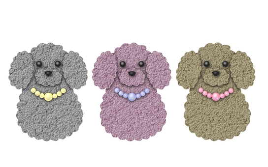 Poodles 4 (pasted picture)