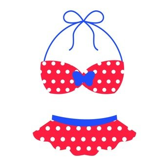 Dot pattern bikini