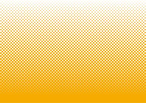 Dot screen tone · Orange