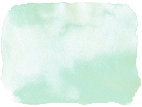 Watercolor background-green