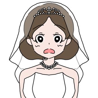 Wedding dress 1 (surprise face)