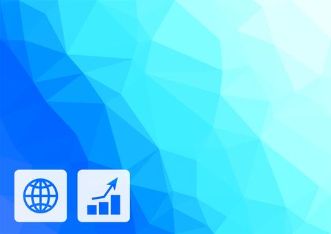 Light blue digital business vector background material